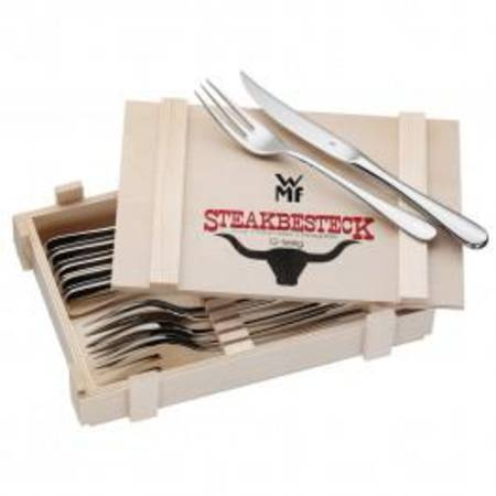 Steak Set 12pce Wooden Box