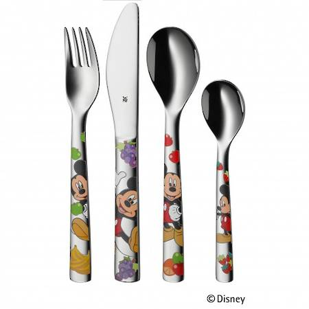 "Mickey Mouse"" 4pce Childs Cutlery Set"