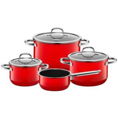 Passion Red Cookware Set 4pce