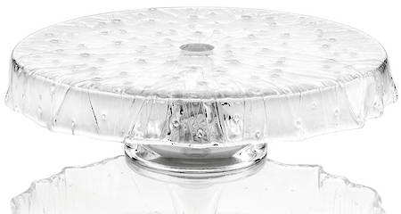 Rugiada Footed Cakestand 33cm Clear