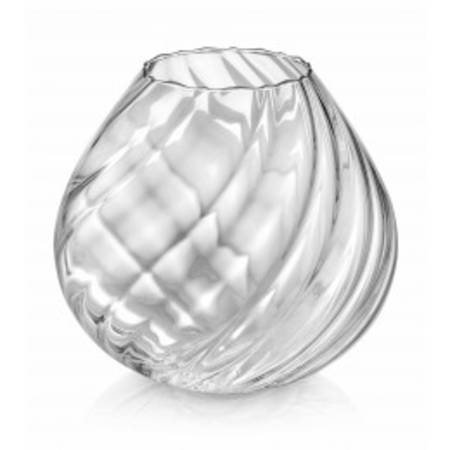 Nuvola Twisted Clear Vase 26cm