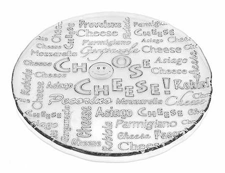 Cheese Plate 32.5cm Clear