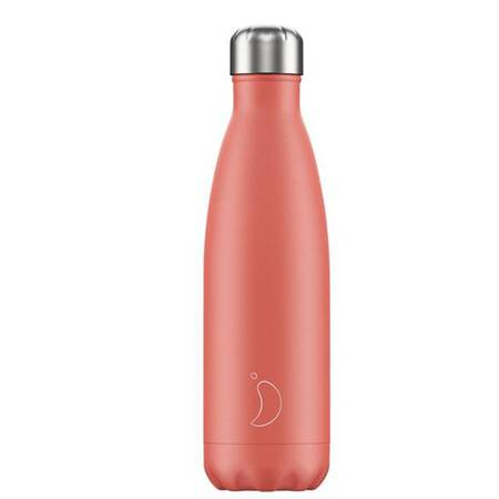 Insulated Bottle Matte Coral 500ml - NEW