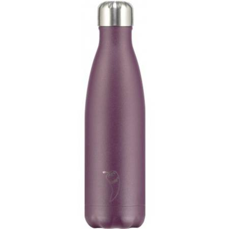 Insulated Bottle Matte Purple 500ml - NEW