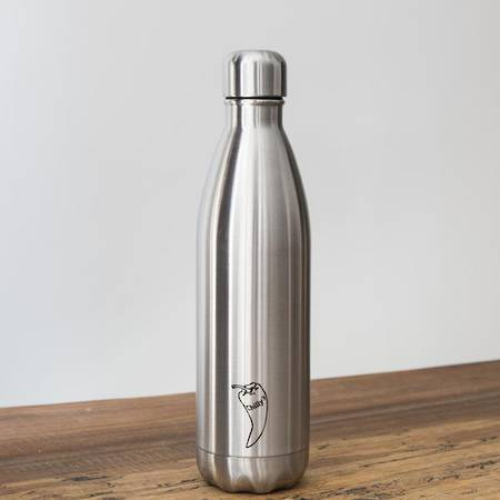 Insulated Bottle Silver 750ml