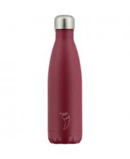 Insulated Bottle Matte Red 500ml - NEW