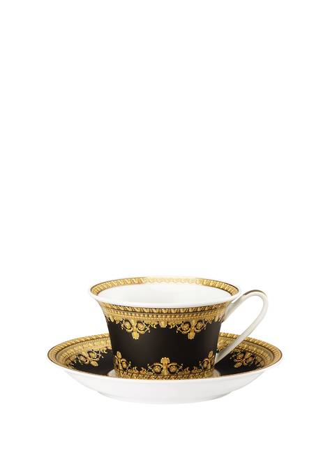 Nero Cup & Saucer 4 Low - 14640