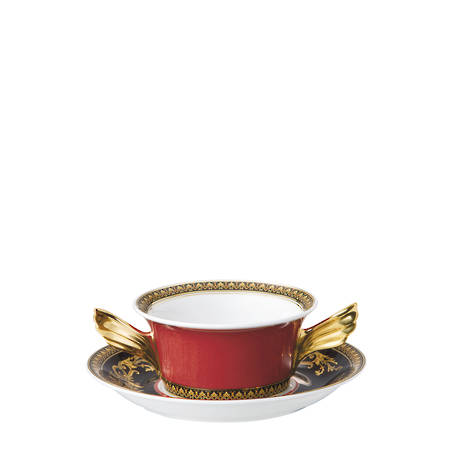 Cream Soup Cup & Stand 10420