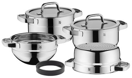 WMF Compact Cuisine Cookware Set 4pce Stackable 20cm