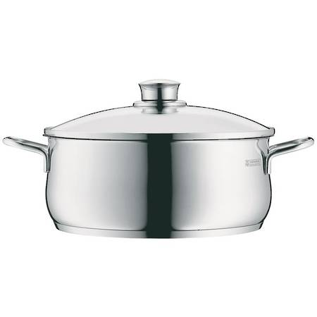 Low Casserole with Lid 24cm 4.5ltr