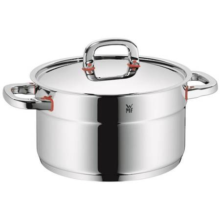 High Casserole with Lid 24cm 6ltr