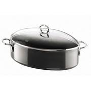 Nature Black Oval Roasting Pan 36cm