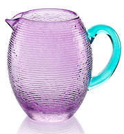 Multicolor Pitcher Amethyst w Turq Handle 1.5 Ltr