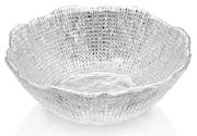 Diamante Salad Bowl 20cm Clear
