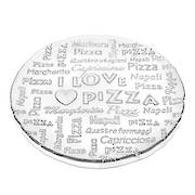 Pizza Plate 32.5cm Clear