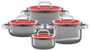 WMF Fusiontec Functional Cookware Set 4 Piece - Platinum